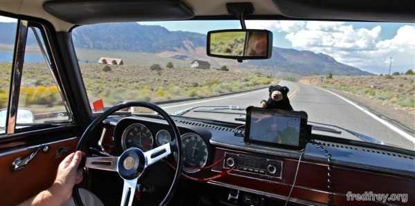 Alfa Romeo Giulia on Route 66