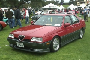 1994_Alfa_Romeo_164_Q_Quadrifoglio_Sedan_For_Sale_V6_Front_resize